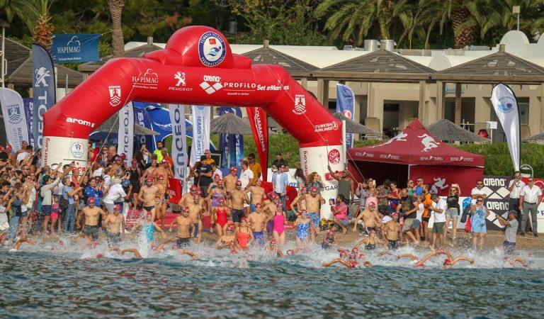 Bodrum'da gerçekleştirilen 9. Uluslararası Arena Aquamasters Yüzme Şampiyonası tamamlandı